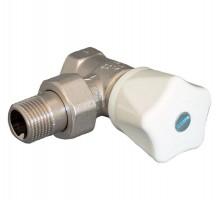 Вентиль ручной OVENTROP HR, 1/2 Вн/Н, двухтруб.система, американка, маховик, угловой