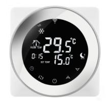 Термостат с недельным программированием Beok  TGR87W-WIFI-EP.SL белый WiFi
