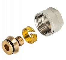 Фитинг компрессионный для труб Stout PEX 16x2,0x3/4, SFC-0021-001620