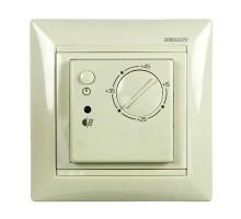 Терморегулятор SpyHeat электронный, механический, для систем отопления, бежевый, ETL-308B-b