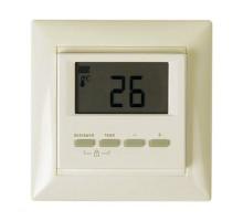 Терморегулятор SpyHeat цифровой, электронный, для систем отопления, бежевый, NLC-511HN-b