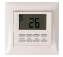 Терморегулятор SpyHeat электронный, программируемый, для систем отопления, бежевый, NLC-527HN-b