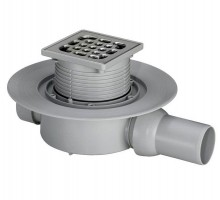 Трап сливной Viega Advantix 100/50/100 д/душа с сух.затвором с прямым шарнир.отводом гориз 583217