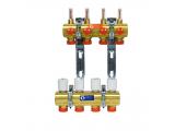 Коллекторные узлы сборные с расходомерами Giacomini R553F