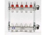 """Коллекторы с термостатическими вентилями и расходомерами Uni-Fitt 1""""x3/4""""ЕК"""