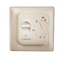 Терморегулятор CLIMATIQ BT (ivory) для управления теплым полом