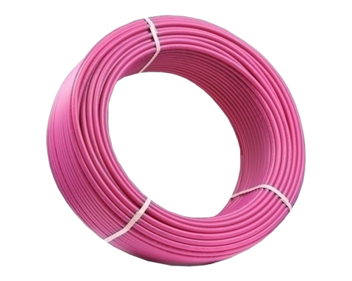 Труба из сшитого полиэтилена REHAU Rautitan pink 16 x 2.2 РЕХ мм для теплого пола 11360421120