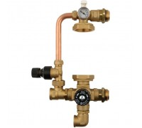 STOUT Насосно-смесительный узел с термостатическим клапаном (SDG-0120-002000), без насоса