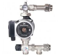 STOUT Насосно-смесительный узел с термостатическим клапаном (SDG-0120-005001), с насосом UPSO 25-65 130
