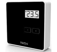 Терморегулятор Tech R-8B беспроводной комнатный двухпозиционный, черный