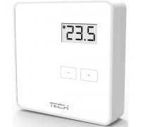 Терморегулятор Tech R-8В комнатный беспроводной двухпозиционный, белый