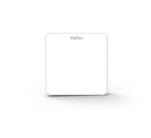 Беспроводной комнатный датчик температуры TECH C-8R белый