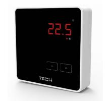 Терморегулятор Tech R-8Z комнатный беспроводной, черный