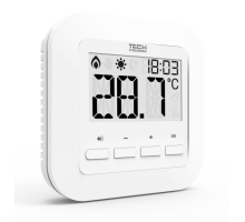 Проводной комнатный терморегулятор TECH ST-295 v3, белый