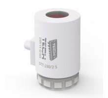Сервопривод Tech STT-230/2s термоэлектрический двухпозиционный, 230 В