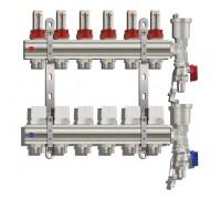 Коллекторная группа TIM KC006, 6 отводов с расходомером