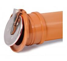 Клапан обратный канализационный выпускной Karmat Ø110 (ZBK110)