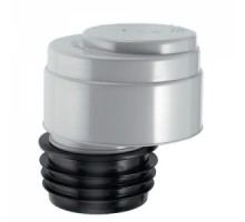 Вентиляционный клапан (аэратор) для канализации со смещением и прокладкой 4