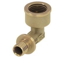 TECEflex Уголок соединительный с ниппелем 16 х1/2 AG